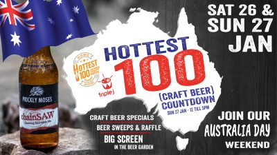 hottest 100 craft beer countdown prickly moses