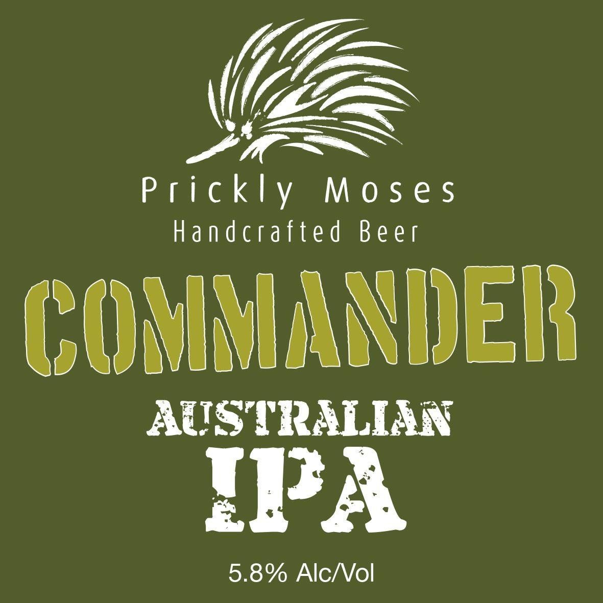 prickly moses commander australian ipa