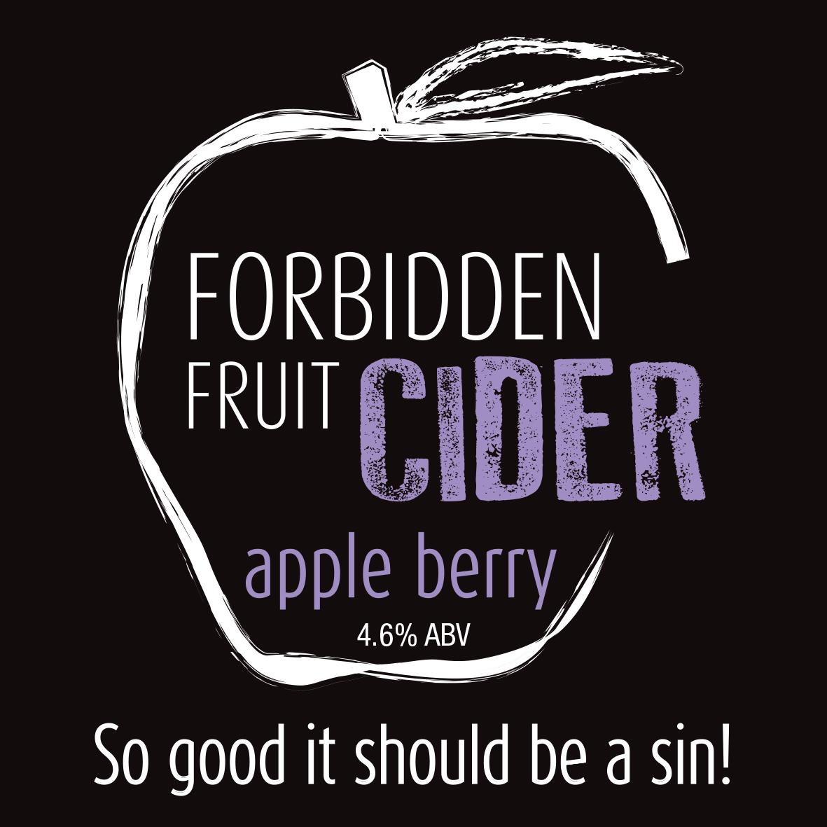 forbidden fruit cider apple berry cider