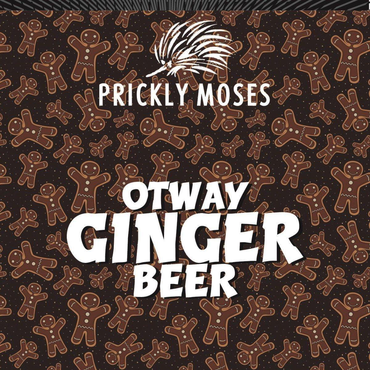 PRICKLY MOSES Ginger Beer