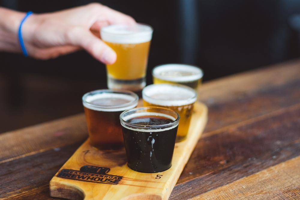 beer paddle great ocean road brewhouse