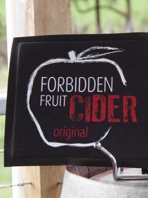 Forbidden Fruit Cider Bar Mat
