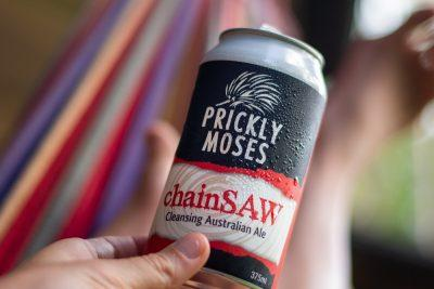 prickly moses chainsaw can craft beer victoria