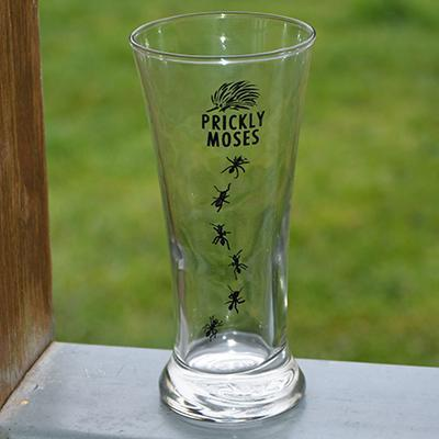 Prickly Moses Pilsner Glass